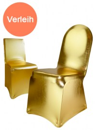 Stuhlhusse Stretch, gold